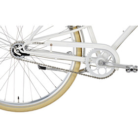 Creme Caferacer Solo Citybike Damer hvid